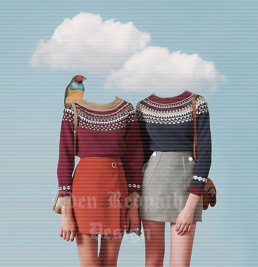 """Head in the Clouds"" Artwork License"