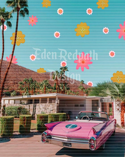 """Patterned Suburbia"" Artwork License"