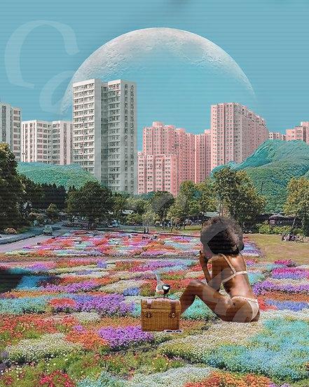 """""""New York Flower Giant"""" Artwork License"""