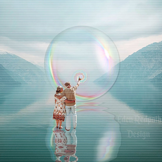 """""""Our Little Bubble"""" Artwork License"""