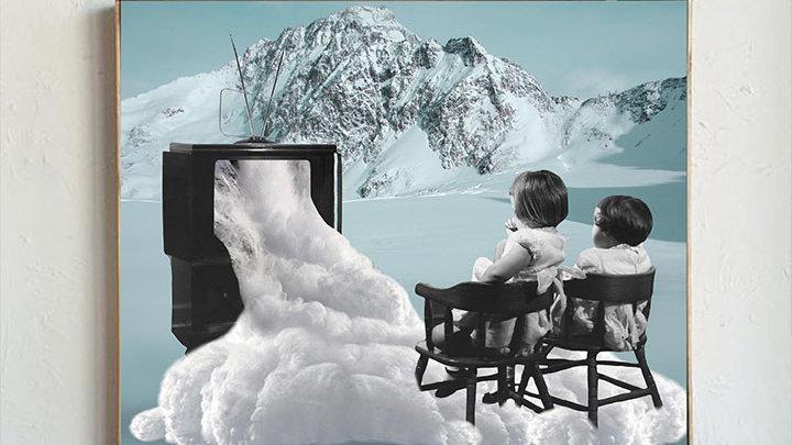 Snowy Movie Night