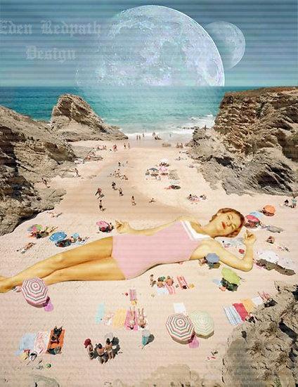 """""""Sunbathing Giant"""" Artwork License"""