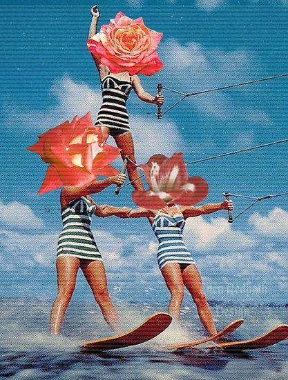 """Floral Watersports"" Artwork License"