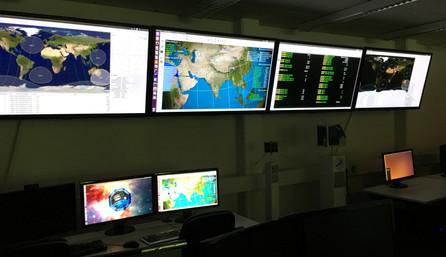 Mission Control Raum