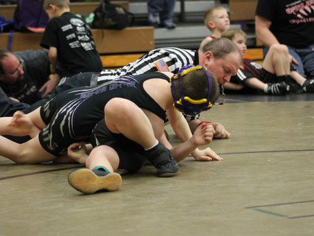 Mock Match For All New Wrestling Families - 11.13.17 (5:45-7:00pm)