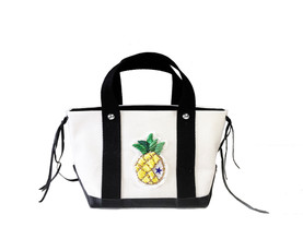 pineapple summer tote