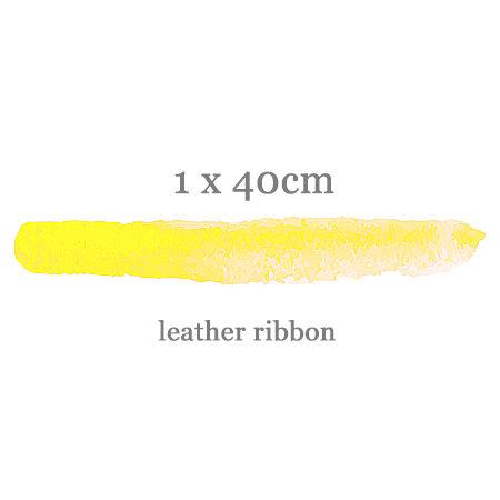 leather ribbon(1cm)