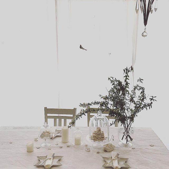 ☆_#お菓子教室 _#lemuguet _#tablesetting_#blanc