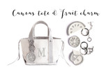 mini tote & fruit charm WS