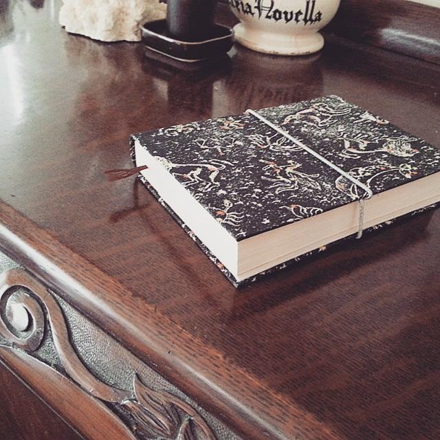 文庫本カバー #libertyprint #cartonnage#bookcover#handmade_edited