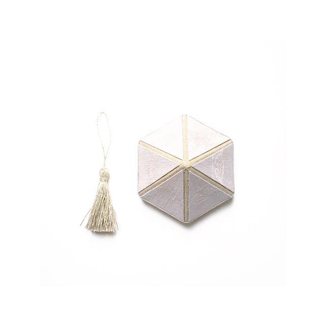 ®_ヴィンテージリネンの_六角形のためのタッセル_.....