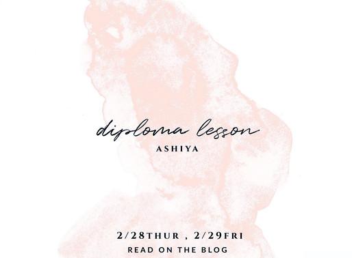 diploma lesson ashiya