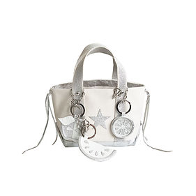 leather idee tote