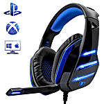 Beexcellent Micro Casque Gaming PS4