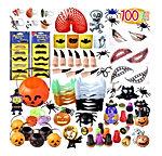 PITAYA Ensemble de Thème d'halloween,Trick Or Treat Cadeau Sac Jouet Halloween,Parfait pour Les Enfants Jouets