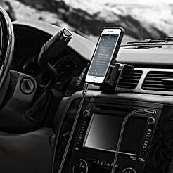 Syncwire Câble Jack Audio Câble Auxiliaire 3.5mm mâle vers mâle [Plaqué Or] Câble Audio stéréo en Nylon pour iPhone, Samsung, iPod, iPad, Voiture, Casque, Autoradio, Smartphones, MP3 etc. - 1M Noir