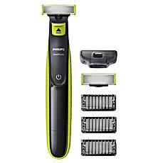 Philips QP2520-30 OneBlade avec lame de rechange - 3 sabots barbe
