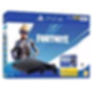 PS4 Slim 500 Go F Noire + Bonus Fortnite
