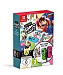 Super Mario Party Joy-Con vert néon rose néon