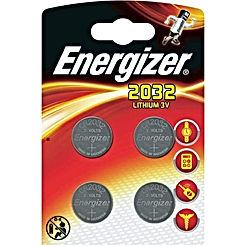 Energizer Batterie au Lithium CR2032 – (Lot de 4)