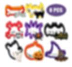 Boao 8 Pièces Ensemble d'Emporte-Pièces Halloween Moules à Emporte-Pièce de Cookie Sandwiches Coupeurs de Biscuit d'acier Inoxydable pour Fête d'halloween Biscuit Sandwich Fournitures