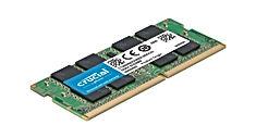 Crucial CT8G4SFS824A 8Go (DDR4, 2400 MT/s, PC4-19200, Single Rank x8, SODIMM, 260-Pin) Mémoire