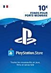 Carte PSN 10 EUR Code Playstation Store PS4 PS3 PS Vita