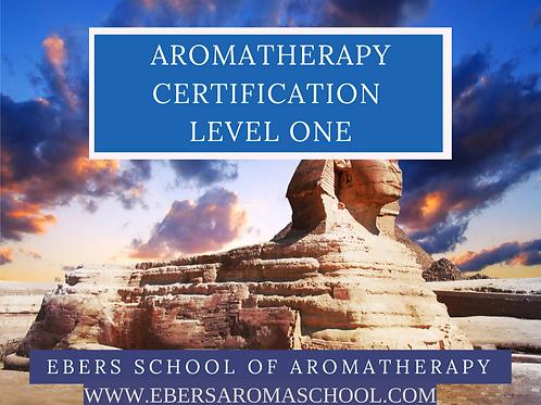Level 1 NAHA Certified Aromatherapist- Full