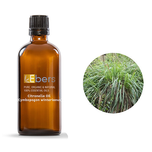 Citronella Oil Java (Cymbopogon winterianus) 15 ML