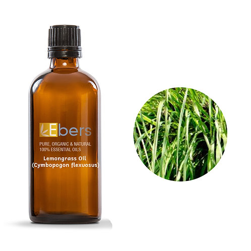 Lemongrass Oil (Cymbopogon flexuosus) 15 ML