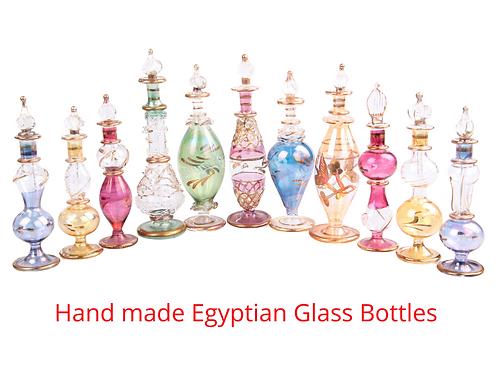 Hand Made Glass bottles