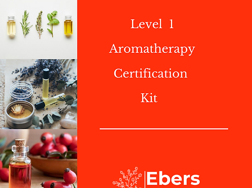 Level 1 Aromatherapy Certification Kit