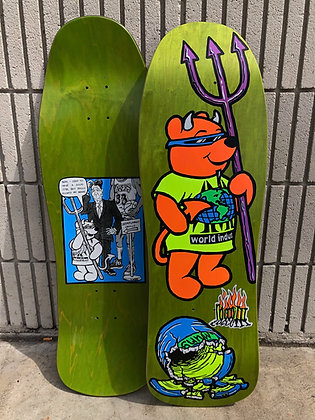"Rocco III ""World Industries"" Official 1990 Reissue Lt. Green"