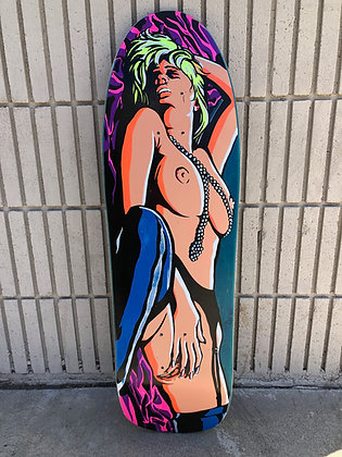 Colvin Censorship - Signed - Blue Stain