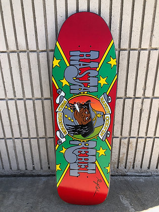 Colvin Rasta Rebel - Signed - Only 2 in  Purple Stain only