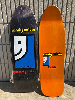 Randy Colvin - Signed - on Original Shape and Concave - Made in the USA Black.