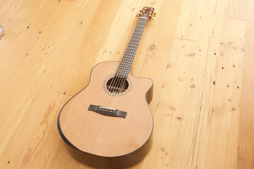 Dyer Grand Fingerstyle Bevel Cutaway