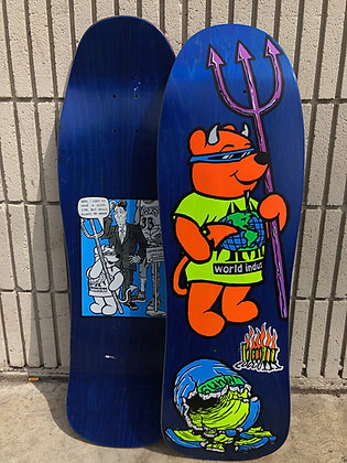 "Rocco III ""World Industries"" Official 1990 Reissue Dk. Blue"