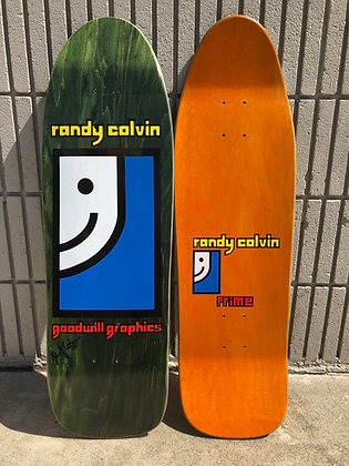 Randy Colvin - Signed - on Original Shape and Concave - Made in the U