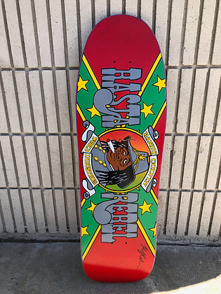 Colvin Rasta Rebel - Signed - Only 2 in  Pink Stain only
