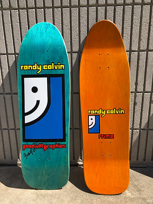 Randy Colvin - Signed - on Original Shape and Concave - Made in the US