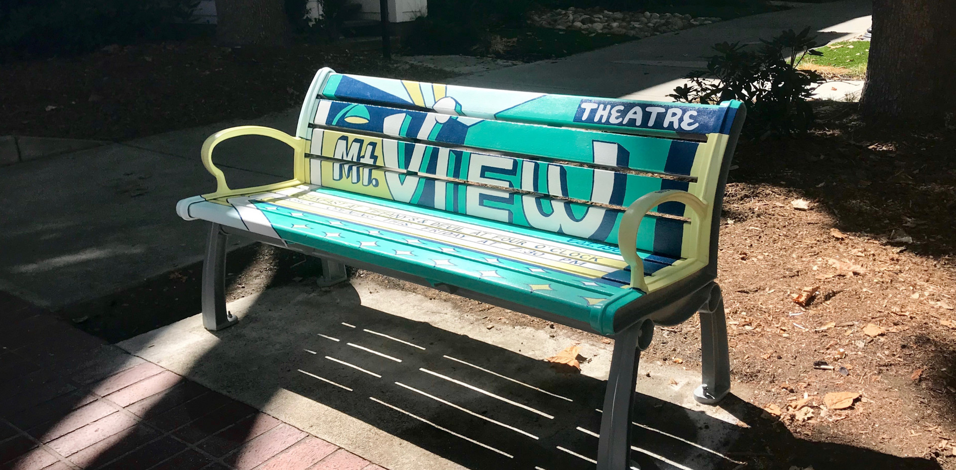 MOUNTAIN VIEW THEATRE BENCH