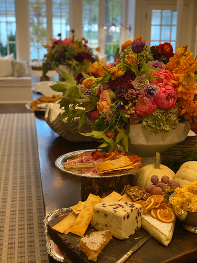 Table setting in private home