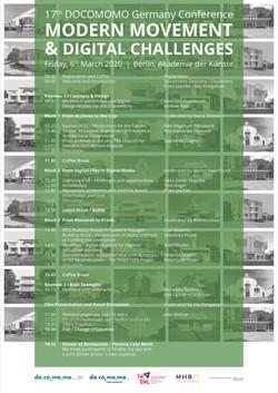 17th Docomomo Germany Conference