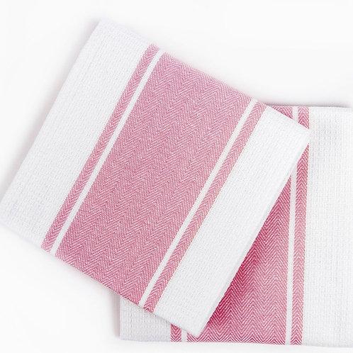 Кухонное полотенце Pena, 2 шт/компл, розовый