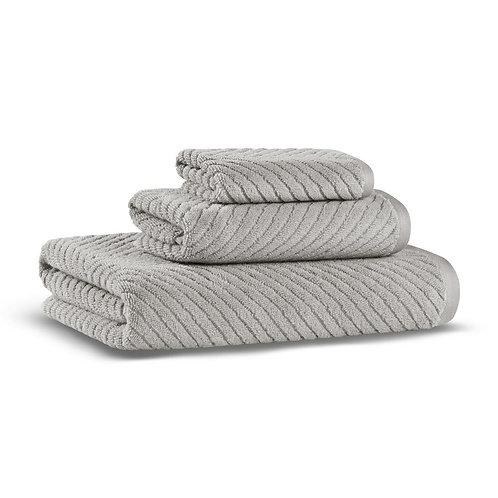 Полотенце Chevron, светло-серый