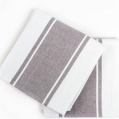 Кухонное полотенце Pena, 2 шт/компл, серый