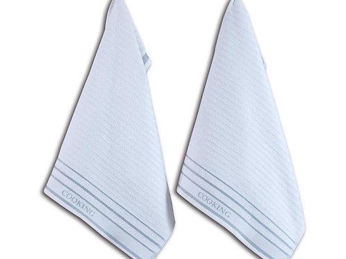 Кухонное полотенце DENVER, 2 шт/компл, белый