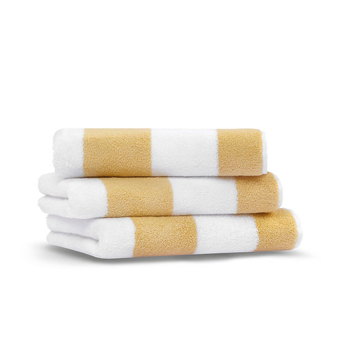 Полотенце Tampa, желтый/белый