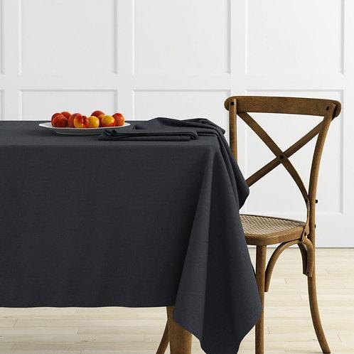 Комплект скатертей Ибица, темно-серый, 2 шт